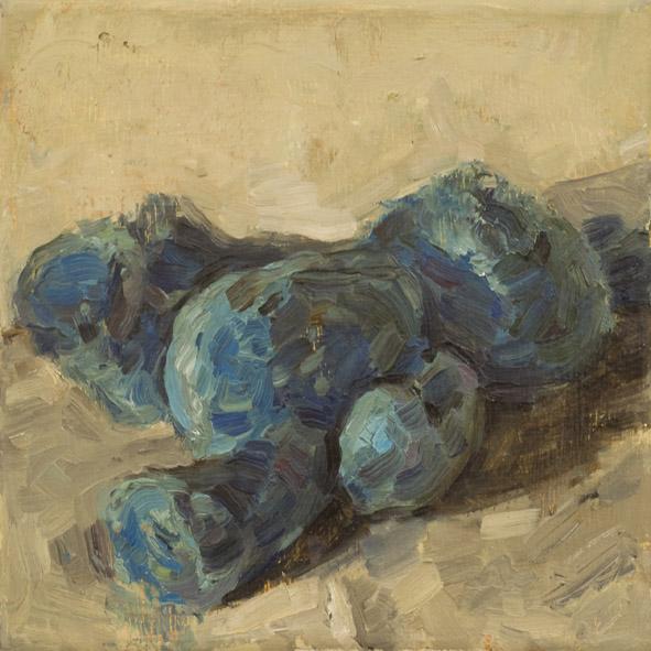 Hase, 2009 Öl auf Leinwand, 20x20cm