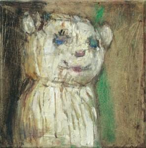 Katze, 2008 Öl auf Leinwand, 20x20cm