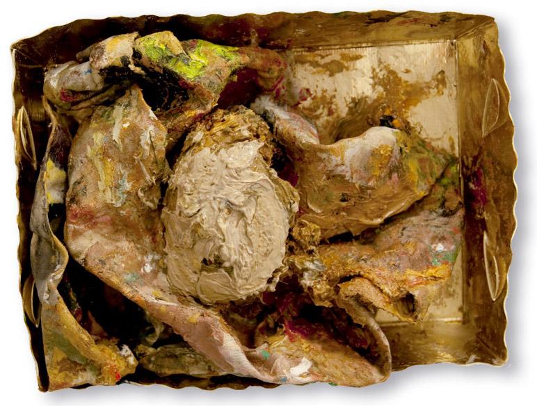 Ölgötzen, 2009, Verschiedene Materialien, ca.9x13x4 cm
