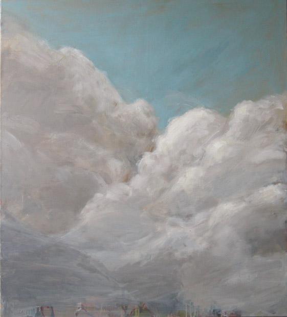 Wolken, 2003 Öl auf Leinwand